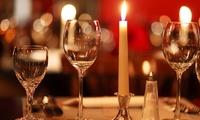 4-Gänge-Candle-Light-Dinner inkl. Begrüßungsprosecco für 2 Personen im Restaurant Divino (bis zu 47% sparen*)