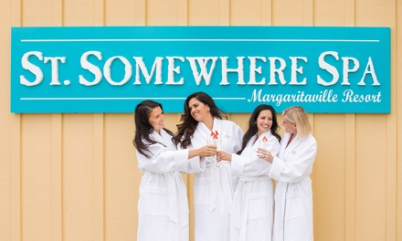 Manicure and Optional Pedicure at St Somewhere Spa At Margaritaville Resort Orlando (Up to 69% Off)
