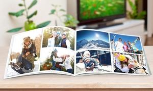 Photobook Shop: Album di foto personalizzabile in formato quadrato, A5, 26x33 con copertina morbida o rigida offerto da Photobook Shop