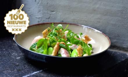 Singel Amsterdam: culinair viergangenmenu van de chef voor 2, 4 of 6 personen bij The French Connection