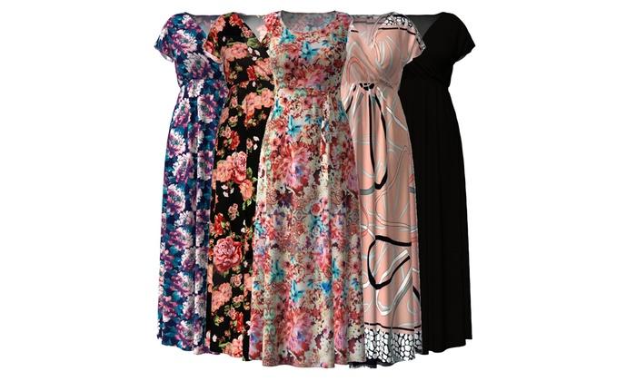 Women\'s Maxi Dress Summer Clearance Sale. Plus Sizes ...