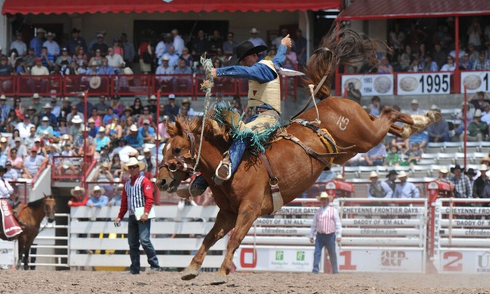 Cheyenne Frontier Days Up To 54 Off Prca Rodeo