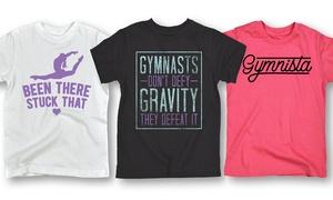 Girls' Gymnastics Tees: Girls' Gymnastics Tees