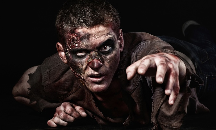 Paintball Central - Greensboro Park: $22 for a Zombie-Shooting Haunted Hayride at Paintball Central ($54 Value)