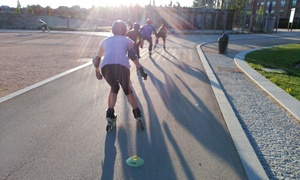 SobreRuedaMadrid: 1 mes de clases de iniciación al patinaje con 1 o 2 clases semanales para 1 o 2 desde 12,95 € en SobreRuedaMadrid