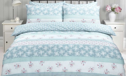 Patchwork Floral Duvet Sets