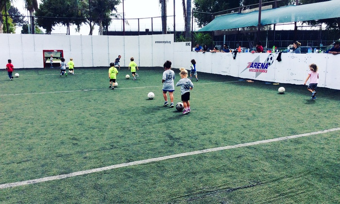 Soccer League or Birthday Party Packages at Arena Soccer Parks (Up to 39%Off). Six Options Available.