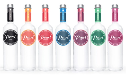 One 1.75L Bottle of Pearl Vodka at Hot Spot Liquor