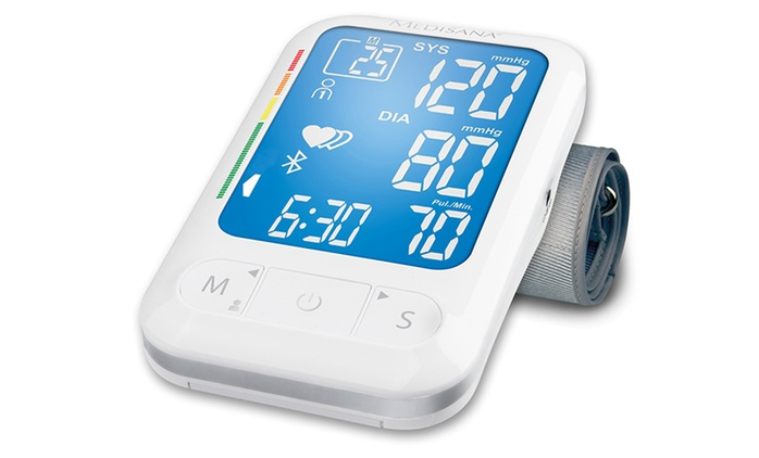 Connect Upper Arm Blood Pressure Monitor With Bluetooth from £49.99 With Free Delivery