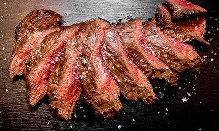 1 kg oder 2 kg australisches Wingham Flanksteak für bis zu 5 oder für bis zu Personen im 20|15 Steakhouse (62% sparen*)