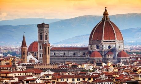 ✈Florencia y Roma: 4 o 6 noches con desayuno, vuelo de ida y vuelta y traslado entre ciudades para 1 persona