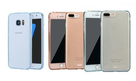 360-Grad-TPU-Case für Galaxy und iPhone in der Farbe der Wahl (68% sparen*)