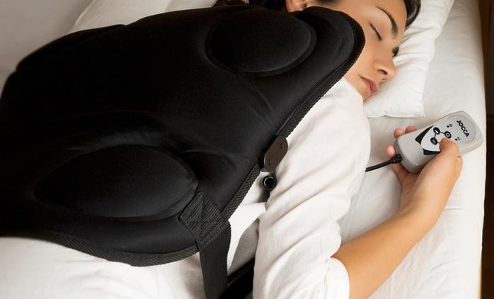 Masseur de dos portatif Jocca, 8 modes de massage, 4 programmes d'intensité et 2 types de branchement, à 24,90€ (-64%)