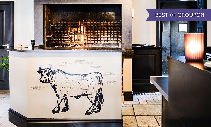 Grill Restaurant Passie - Sluis: 3-gangen keuzemenu op houtvuur voor 2 of 4 pers. vanaf €39 bij Grill Restaurant Passie te Sluis