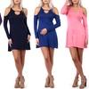 Women's Cold-Shoulder Dress