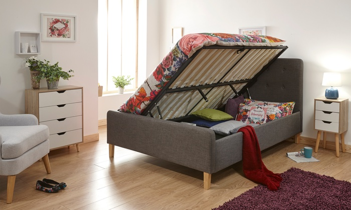 Ashbourne Ottoman Bed with Optional Mattress from £210