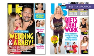 """51% Off a One-Year """"Us Weekly"""" Subscription"""