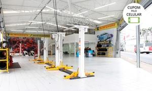 Bono Pneus - BH: Alinhamento, balanceamento, rodízio de pneus, check-up e mais (opção de troca de óleo) na Bono Pneus – Centro