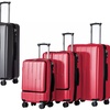 3-Piece Luggage with Laptop Holder