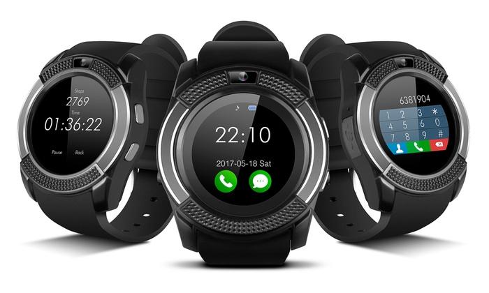 smartek smartwatch sw 432 groupon goods. Black Bedroom Furniture Sets. Home Design Ideas