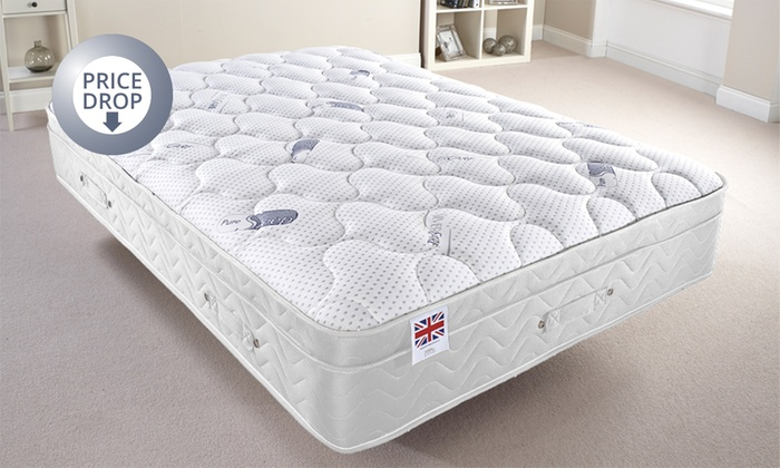 pretty nice a0631 01f95 Pure Sleep Supreme Memory Foam Mattress from £119.99 With Free Delivery (Up  to 64% Off)
