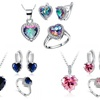 Hearts with Crystals from Swarovski®