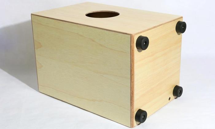 Pyle Stringed Wooden Jam Cajon Groupon Goods