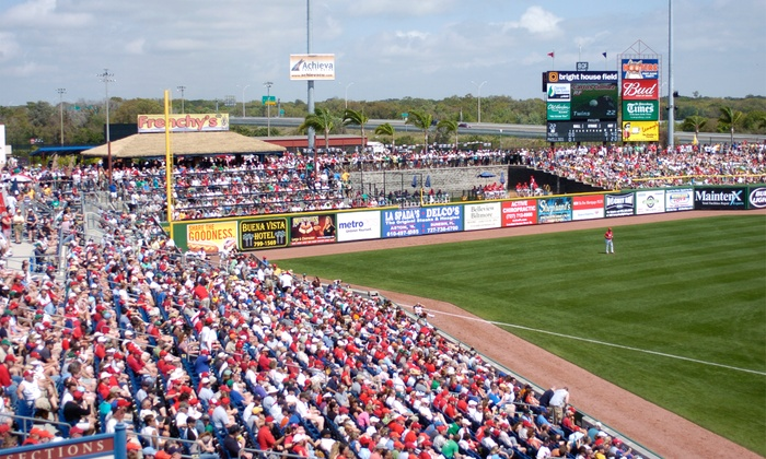Philadelphia Phillies - Bright House Field: Philadelphia Phillies Spring Training Game  vs. Houston Astros on March 30 at 1:05 p.m.