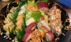 30 o 55 pezzi di sushi d'asporto