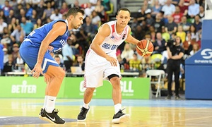 Basket Ball League Ltd: Great Britain v Estonia or Israel World Cup Qualifier Game, 29 June or 2 July at Emirates Arena (Up to 68% Off)