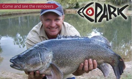 All-Day Fishing + Wildlife Encounter for 1 ($25), 2 ($49) or 4 People ($79) at EcoPark Fishing World (Up to $452 Value)