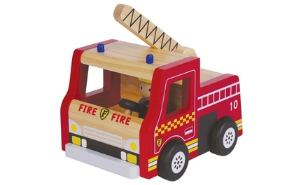 Lelin Wooden Fire Engine