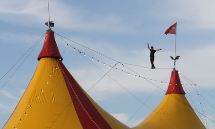 The Great Moscow Circus: Child $29 or Adult Ticket $35 with Blue Premium Seating, Four Locations Up to $49 Value