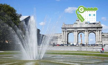Bruxelles : Chambre double Classique ou Confort 4* avec bain à bulles