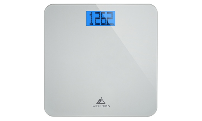Weight Gurus Digital Gl Bathroom Scale