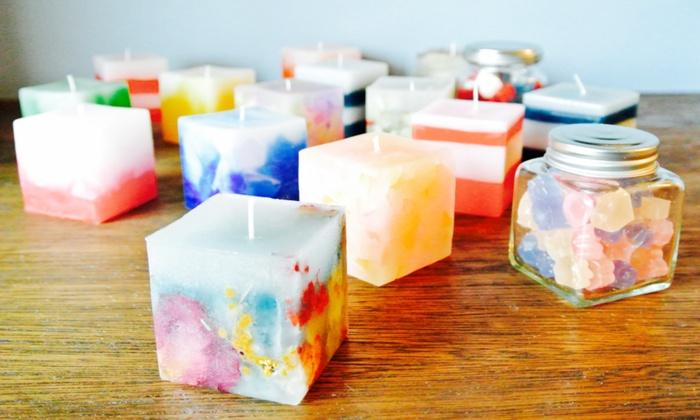 CandleRoom KRTEK - CandleRoom KRTEK: 【980円】かわいくてうっとり。世界にひとつのオリジナルキャンドルを作ろう≪6種から選べるオリジナルミニキャンドル作成≫ @CandleRoom KRTEK