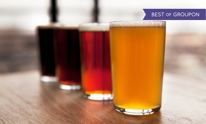 Big Top Brewing Company: Beer Tasting for Two or Four with Growler at Big Top Brewing Company (Up to 48% Off)