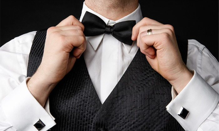 Anthony's House of Formals - Multiple Locations: $40 for One Basic Tuxedo Rental at Anthony's House of Formals ($80 Value)