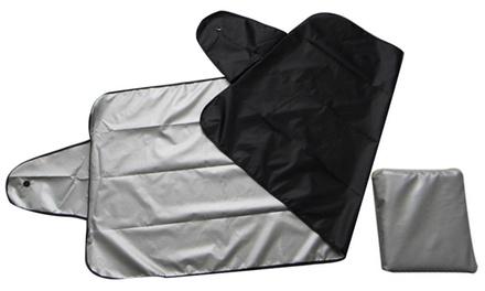 1, 2 o 3 cubre parabrisas reversible para verano e invierno