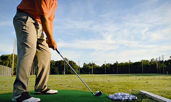 Bishopbriggs Golf Range - Glasgow: Bishopbriggs: Two-Hour Golf Lesson with Trackman Analysis from £15 (Up to 69% Off)