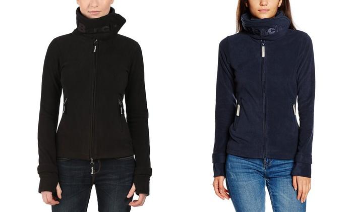 Bench Women S Fleece Jacket Groupon Goods