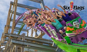 Six Flags Discovery Kingdom: Single-Day Admission to Six Flags Discovery Kingdom (40% Off)
