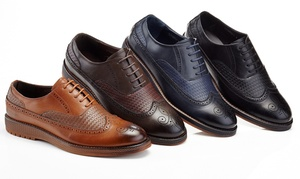 Franco Vanucci Diego Men's Wingtip Oxford Shoes