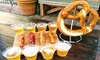 30% Off Sausage and Beer Tasting for Two at Sausage Shack