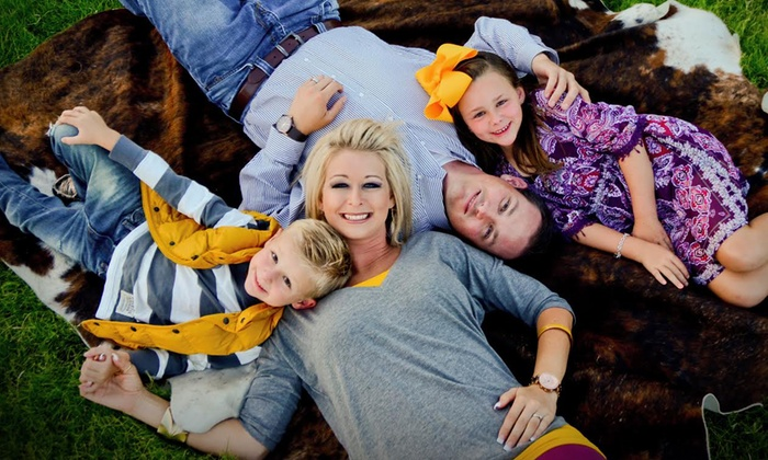 The Photo Store - Amarillo: $30 for an Outdoor Photo-Shoot Package from The Photo Store ($139.95 Value)