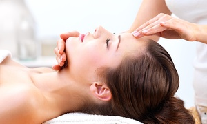 Dharma Nutrition: Massage, Body Scrub, Facial, or All Three at Dharma Nutrition (Up to 62% Off)