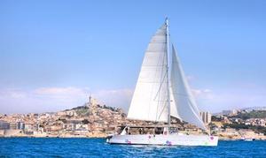 Levantin Catamarans: 1 journée croisière en catamaran avec repas inclus pour 1 ou 2 personnes dès 49,99 € avec Levantin Catamarans