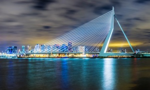 Rotterdam: chambre classique dans un hôtel sur le pont Erasmus  Rotterdam