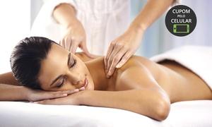 Espaço Josy – Icaraí: Josy Podologia – Icaraí: 1 ou 2 visitas com massagem relaxante + cadeira de shiatsu ou auriculoterapia
