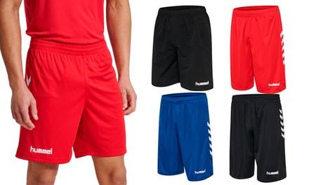 Pantaloncini da basket Hummel per uomo, disponibili in 4 colori e varie taglie
